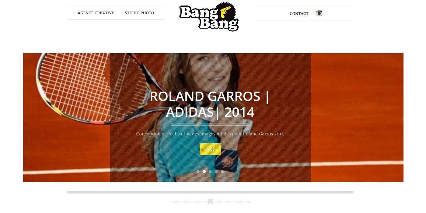 creation site vitrine BANG BANG - bang-bang_fr accueil