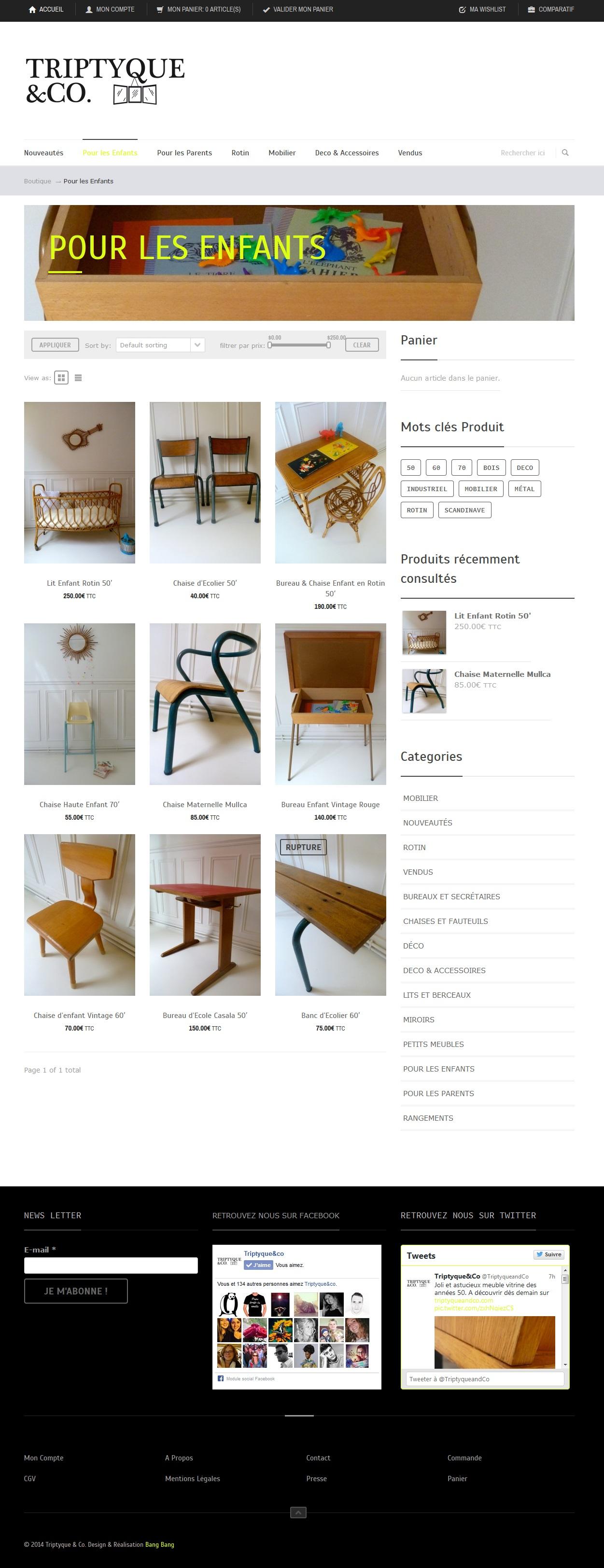 Mobilier et Objets de décoration vintage pour les enfants_' - triptyqueandco_com_categorie-produit_pour-les-enfants