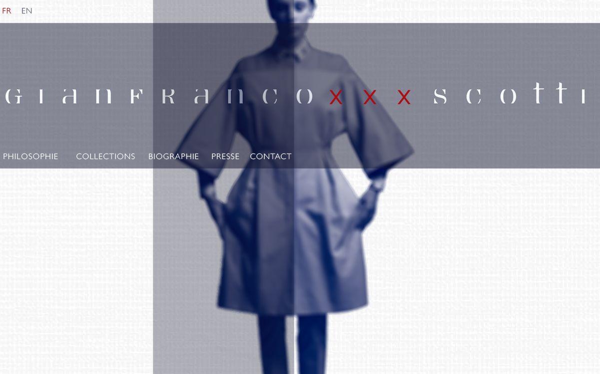 Site GIANFRANCO SCOTTI - www.gianfrancoscotti.com