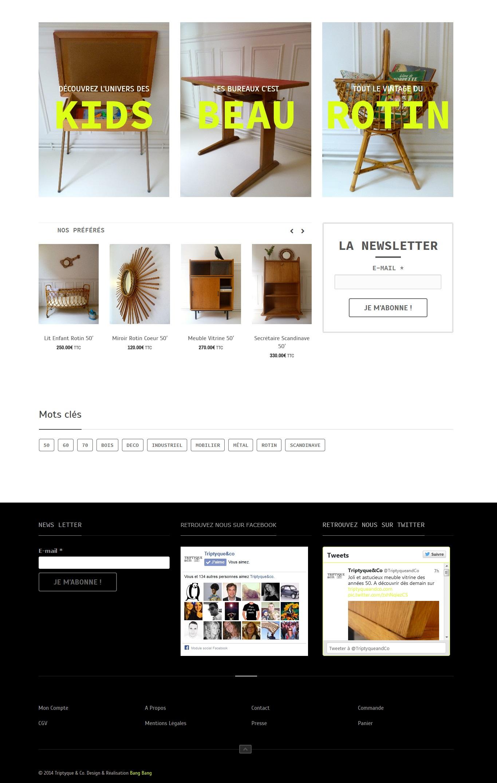 Triptyque & Co I Mobiliers et Objets vintage' - triptyqueandco_com home page 2