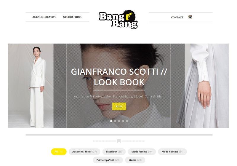 portfolio  BANG BANG - bang-bang_fr home