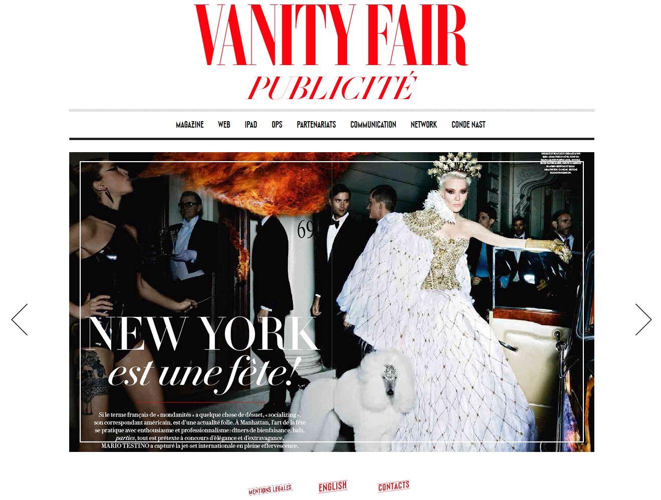 Vanity Fair Publicité