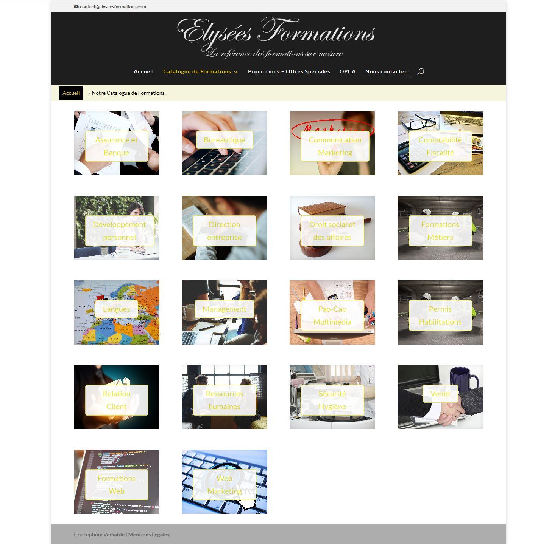 Catalogue I Elysées Formations' - elyseesformations_com_notre-catalogue-de-formations
