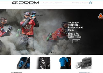 Home - DROM paintball