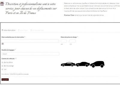 reserver Chauffeur Grande Remise Conciergerie Precious Time services