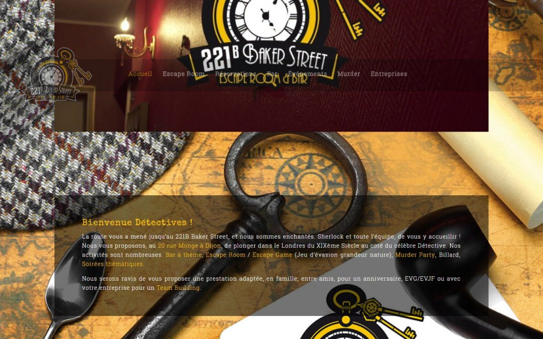 221B DIJON ESCAPE GAME