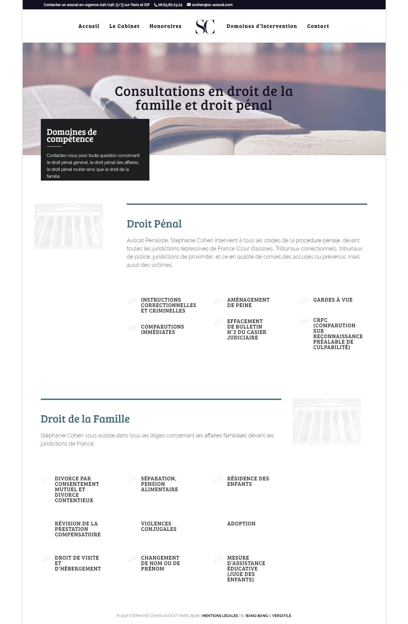 Cabinet Expert en Droit Pénal et en Droit de la Famille Paris 16
