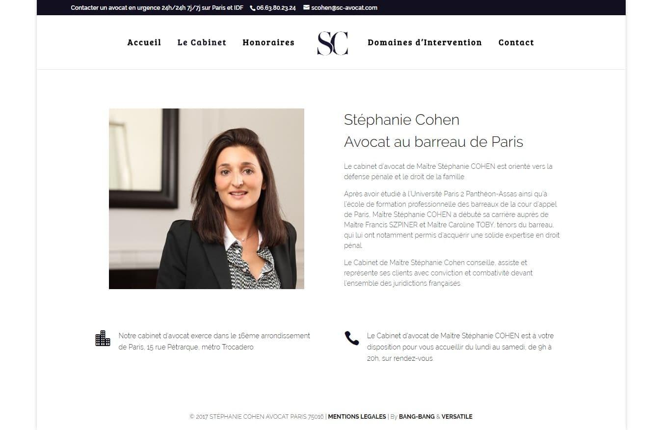 Cabinet d Avocat Stéphanie Cohen Droit Pénal Droit de la Famille Paris