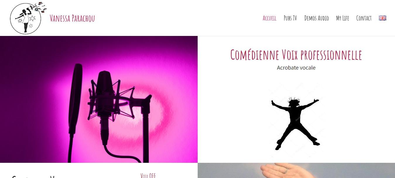 VANESSA PARACHOU Comédienne Voix Off